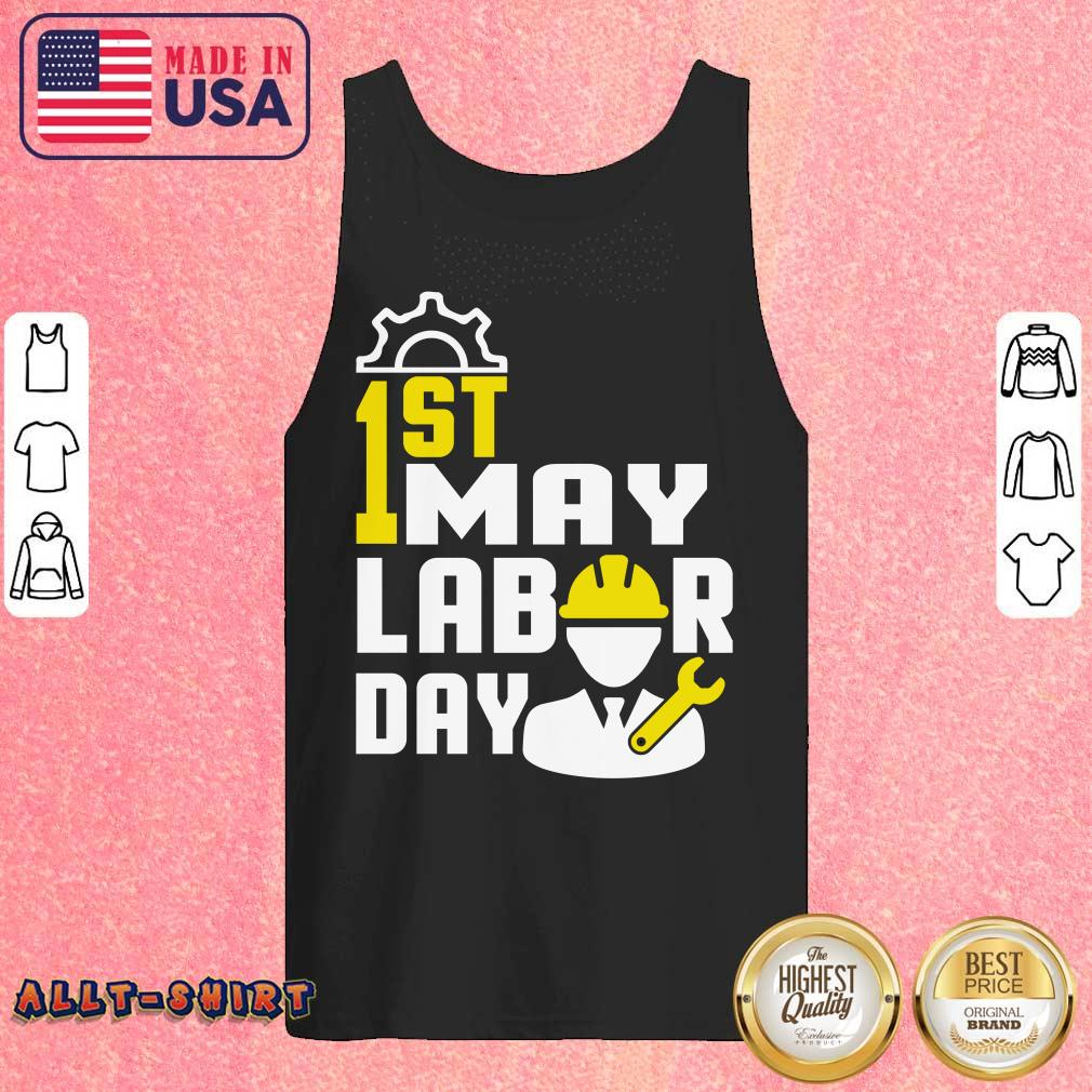 1st May Labor Day Tank Top