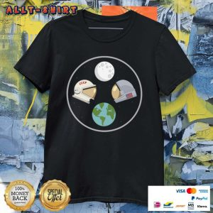 CCCP And American Astronaut Moon And Earth Shirt