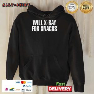 Cool Will X-ray For Snacks Hoodie