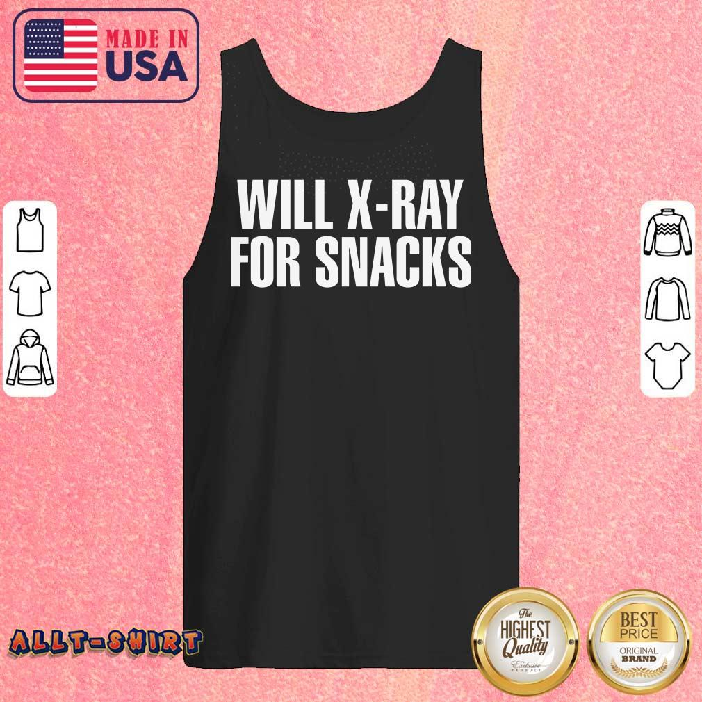 Cool Will X-ray For Snacks Tank Top