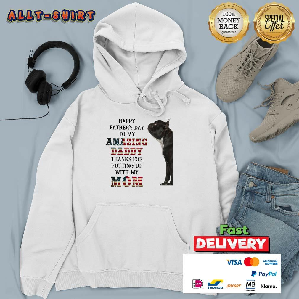 French Bulldog Happy Fathers Day Hoodie