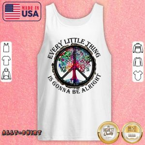 Hippie Tree Every Little Thing Is Gonna Be Alright Tank Top