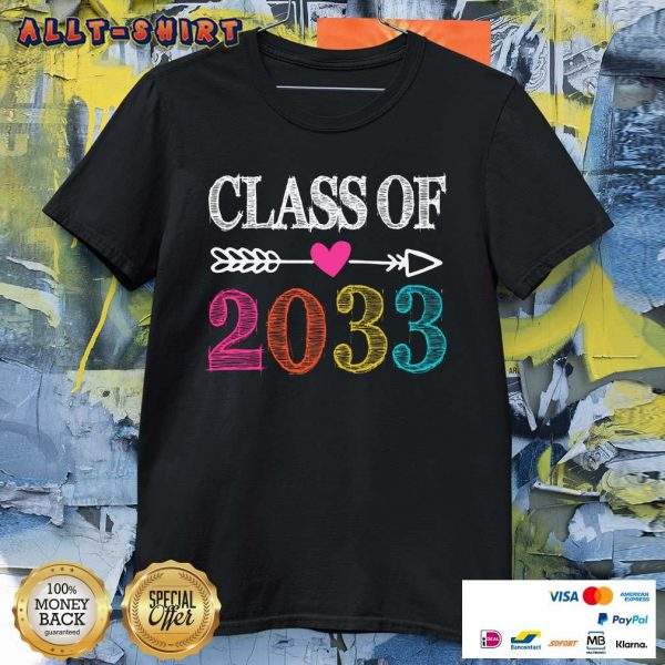 Awesome Class Of 2033 Shirt