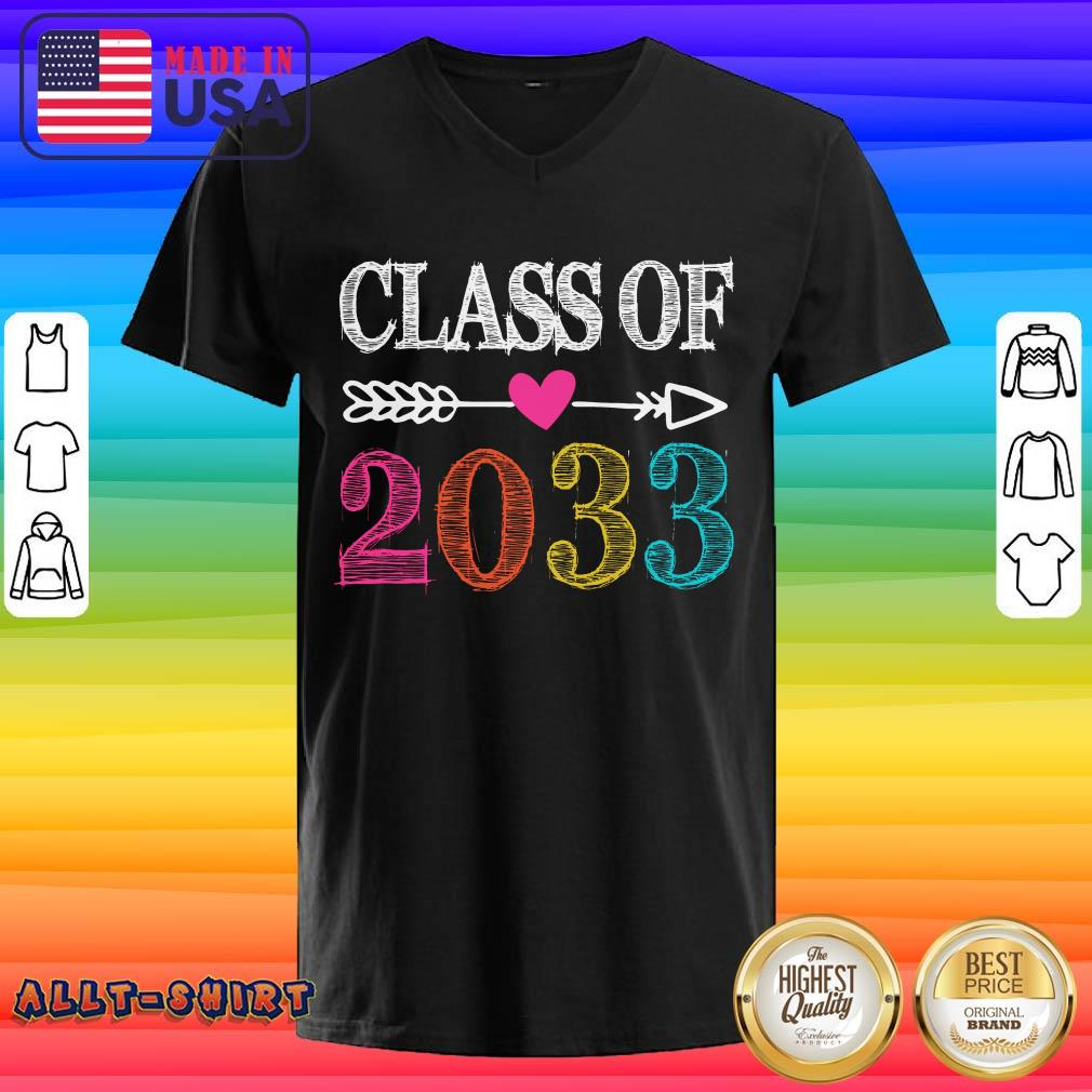 Awesome Class Of 2033 V-neck
