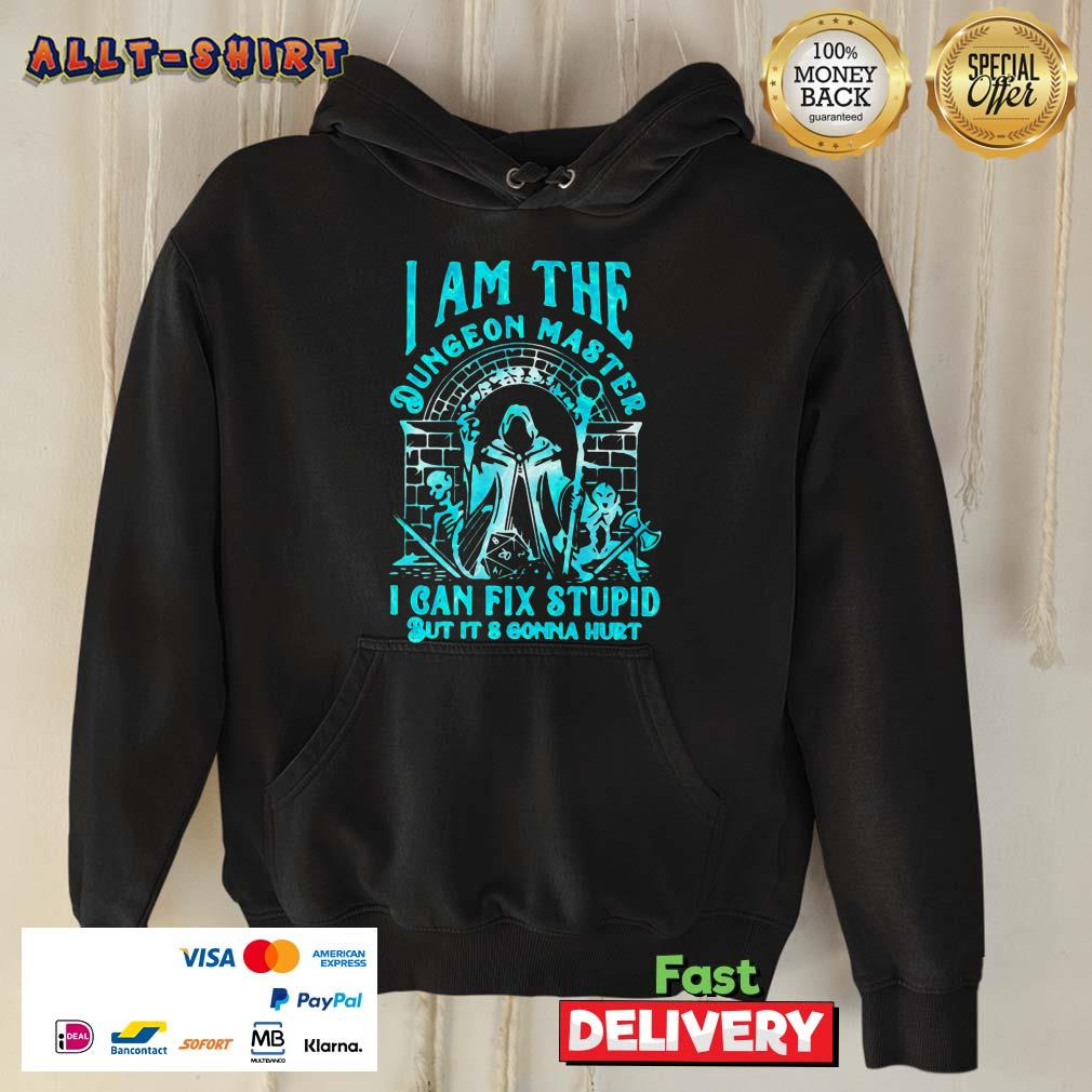 I Am The Dungeon Master I Can Fix Stupid But It Is Gonna Hurt Hoodie