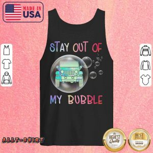 Jeep Stay Out Of My Bubble Coronavirus Tank Top
