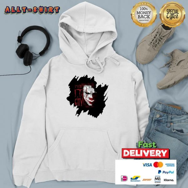 Pennywise In The IT Guy Hoodie