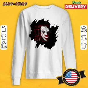 Pennywise In The IT Guy Sweatshirt