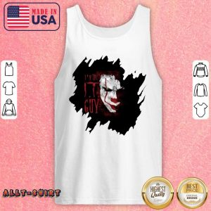Pennywise In The IT Guy Tank Top