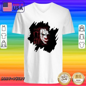 Pennywise In The IT Guy V-neck