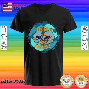 Vampire Hands With Candy Trick Or Treat Halloween V-neck