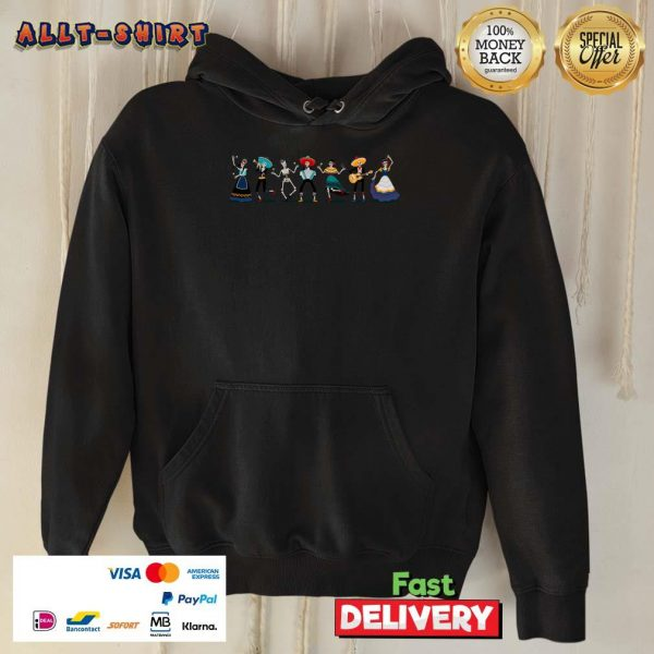 Day Of The Dead Skeleton Party Hoodie