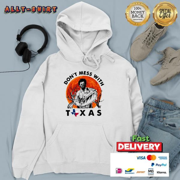 Leatherface Do Not Mess With Texas Halloween Hoodie