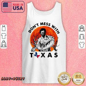 Leatherface Do Not Mess With Texas Halloween Tank Top