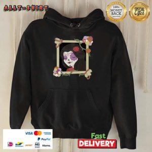 Mexican Girl Picture Day Of The Dead Hoodie