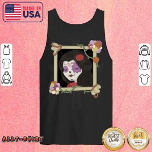 Mexican Girl Picture Day Of The Dead Tank Top