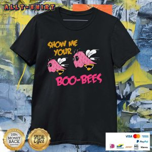 Pink Boos Show Me Your Boo Bees Halloween Shirt