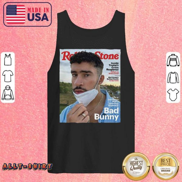 Rolling Stone Bad Bunny Tank Top